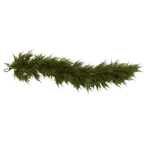 60 inch artificial cedar garland 4953