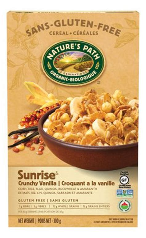 Oh Ma Grain Organic nature s path c 233 r 233 ales croquantes 224 la vanille sans