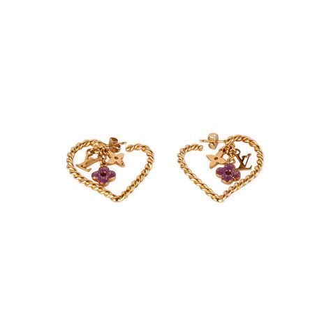 Louis Vuittons Monogram Earrings Hairclips by Louis Vuitton Sweet Monogram In My Earrings Luxity