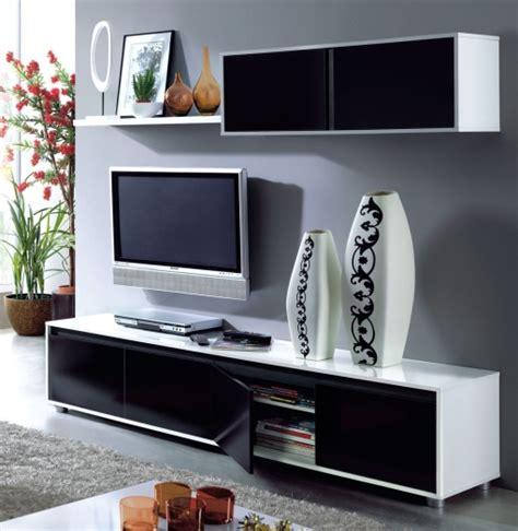 mueble de comedor moderno color blanco negro las