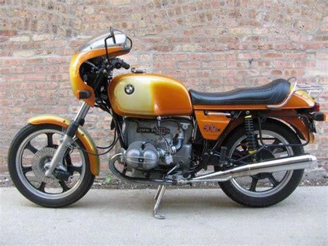 bmw motorcycles daytona 1975 bmw r90s in daytona orange sizzlin