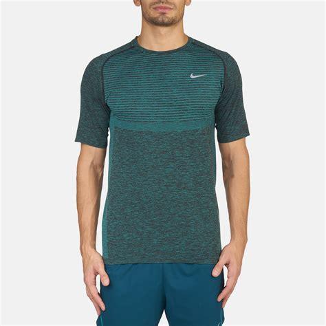 Tshirt Indo Runners 5 Highclothing shop green nike knit sleeve running t shirt for