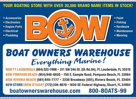 boat owners warehouse locations in florida everything - Boat Owners Warehouse