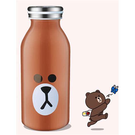 botol minum anak kartun botol minum stainless steel anak gambar kartun 350ml
