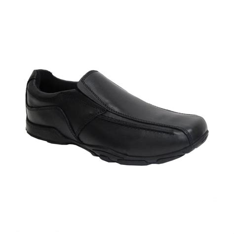 boys hush puppies hush puppies boys shoe bespoke black leather