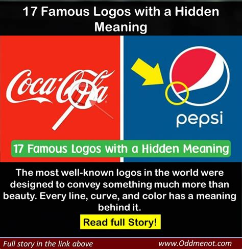 behind meaning 17 famous logos with a hidden meaning oddmenot