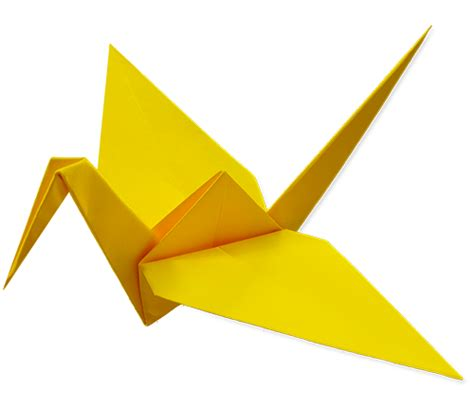 Origami Peace Cranes - peace of paper project fold nation