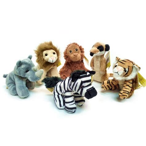 small toys small jungle animal soft toys small cuddly toys soft animals