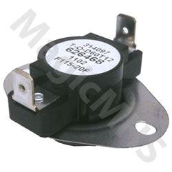 Switch Fan Mobil intertherm nordyne fan switch 626468