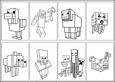 coloring pages of minecraft minecraft coloring pages steve archives new minecraft