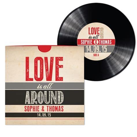 vinyl record wedding invitations uk a fabulous 20 discount on all wedding stationery