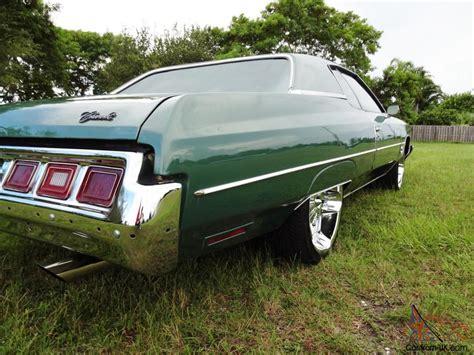 1973 chevy impala donk 1973 chevrolet impala caprice dunk donk custom 22 chrome