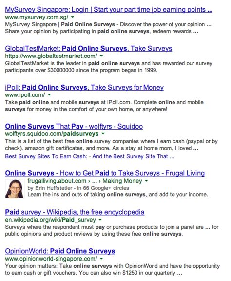 Paid Online Surveys - surveys for money wiki internet money maker
