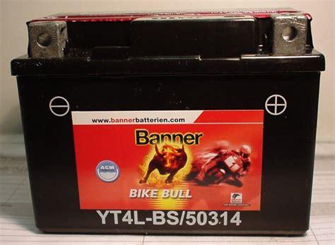 Motorradbatterie 12v 3ah by Motorradbatterie 12v 3ah C20 Batterie Ecke