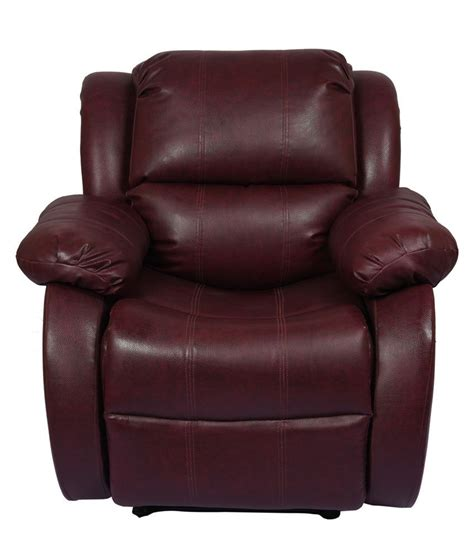 best prices on recliners hi5 seating recliner in maroon buy hi5 seating recliner