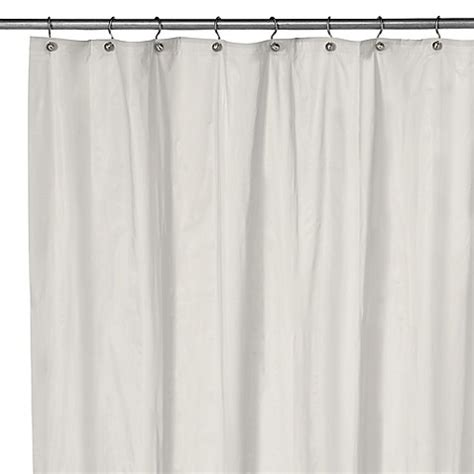 shower curtain liners extra long eco soft extra long shower curtain liner in white bed