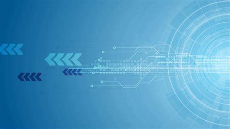 blue gear circuit board  arrows tech background video animation hd  motion