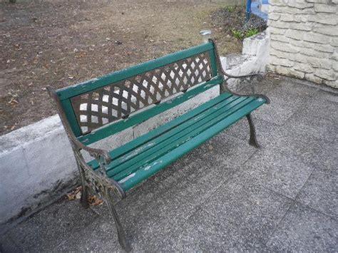 Banc De Jardin Fer Forgé Et Bois by Banc De Jardin En Bois Et Fer Forg 233 224 Donner 224 Ecouflant