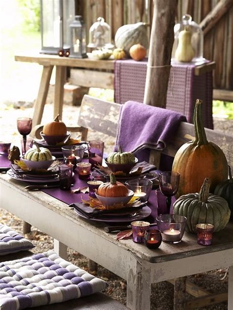 Green Brown Bedroom - 25 thanksgiving d 233 cor ideas in dramatic purple digsdigs