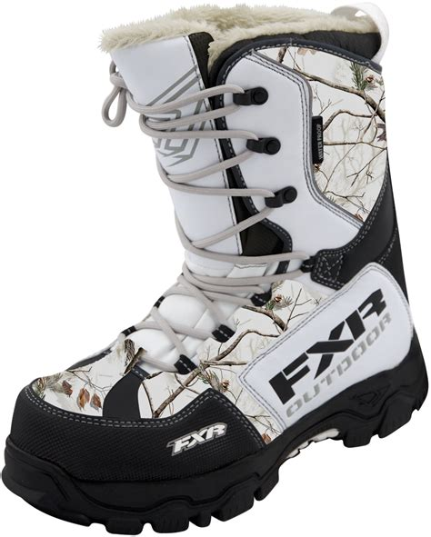 snow camo boots find new fxr snow x cross realtree ap hd snow boots