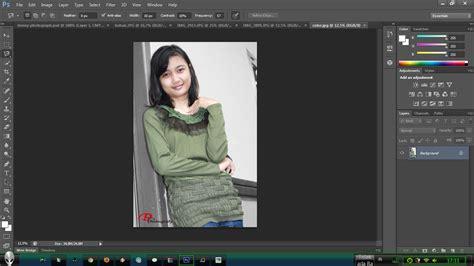 cara membuat latar belakang hitam di photoshop cara membuat foto berwarna hitam putih dengan photoshop