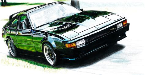 toyota supra drawing toyota celica supra drawing by cardesigner123 on deviantart