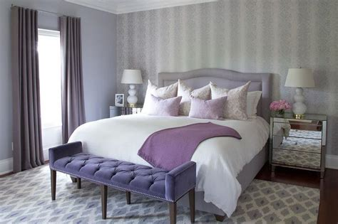 Purple And Gray Bedroom » Home Design 2017