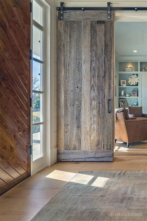 Oak Barn Doors Nashville Tennessee Wide Plank White Oak Flooring Wide
