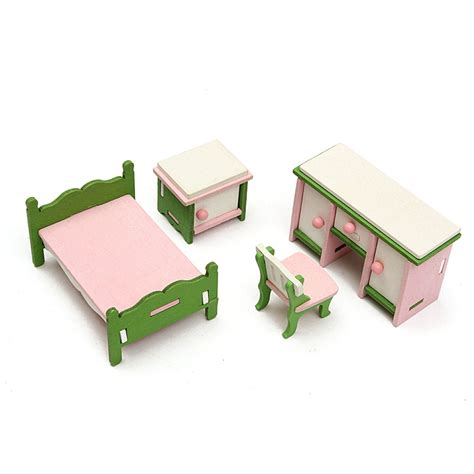 Handmade Wooden Doll Houses For Sale - sale diy handmade doll house miniature bedroom wooden