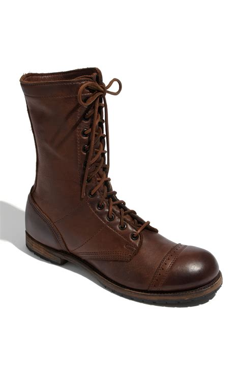 vintage shoe company boots vintage shoe company nathaniel boot in brown for