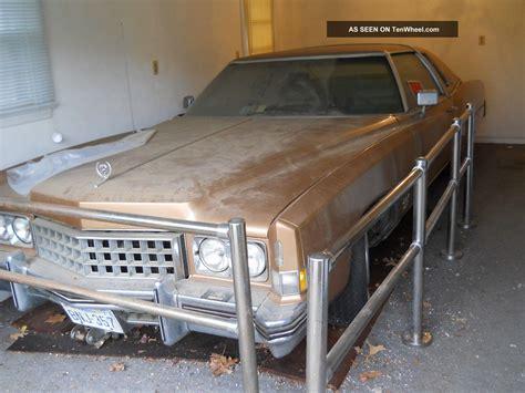 cadillac 500 cid garage find 1973 cadillac eldorado 500 cid 8 2 l