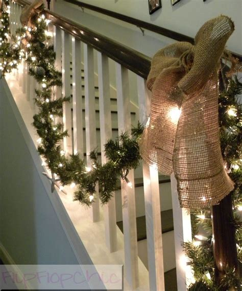 christmas decorations banister 17 best holiday decorating images on pinterest christmas