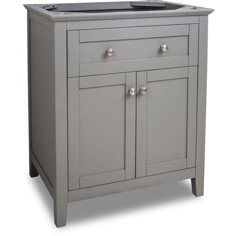 Jeffrey Alexander Van102 30 Grey Chatham Shaker Collection Bathroom Vanities 30 Inch Wide