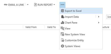 xamarin crm tutorial microsoft dynamics crm 2015 data real time in excel