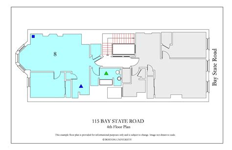 bu housing floor plans 115 bay state road 187 housing boston university