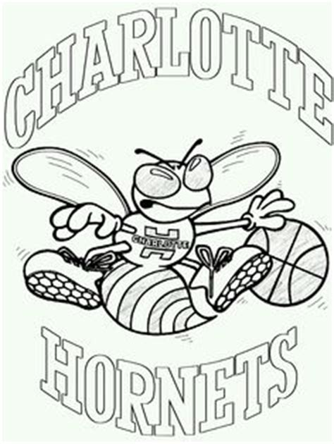 nba hornets coloring pages charlotte hornets logo coloring page sketch coloring page