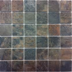 Outdoor Patio Tile Lowes by Shop Style Selections Aspen Sunset Glazed Porcelain Mosaic