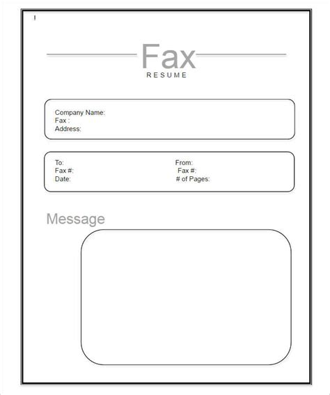 20 fax cover sheet templates free premium pdf