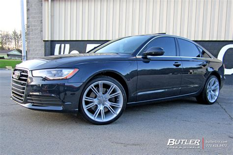 audi a6 with 20in niche ritz wheels exclusively from