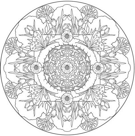 anti stress  relaxation printable coloring pages