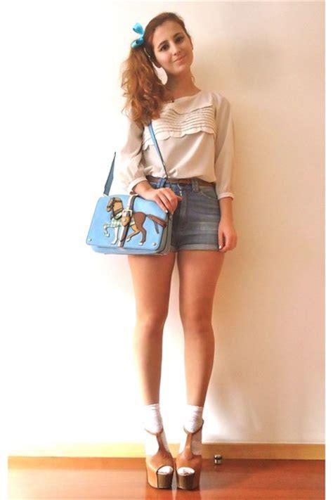 Lapalette Blue Bag Sky Blue Lapalette Bags Quot Ponies And Dolls Quot By Katnani