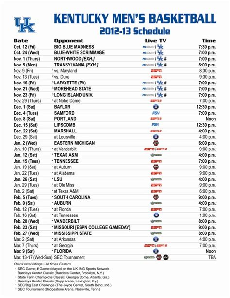 uk basketball schedule strength making the kentucky basketball schedule is more