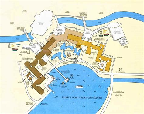club resort map disney s yacht club resort map