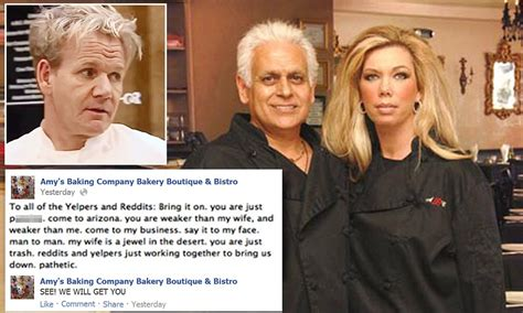Amy S Baking Company Meme - amy s bistro in social media meltdown after gordon ramsay walks off tv episode of kitchen