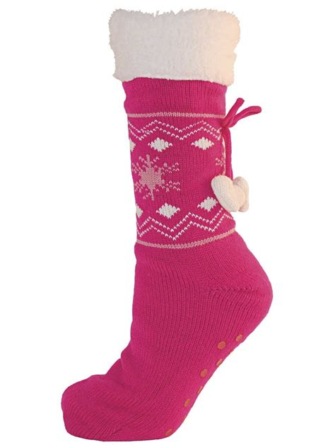 sock lined boots womens fur lined slipper socks ankle boot