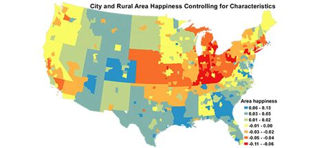 happiest states in the us do you live in one of the country s most unhappy cities