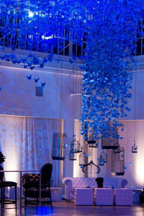 Deko Hochzeit Blau by 40 Beispiele F 252 R Origami Kranich Dekoration Archzine Net