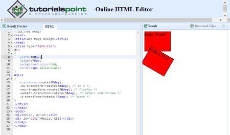 wordpress tutorial on tutorialspoint 32 个免费的 html 在线编辑工具 微歌