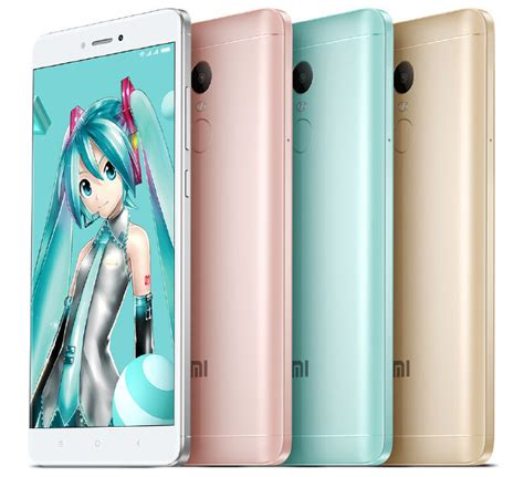 Limited Edition Xiaomi Redmi Note 4x Snapdragon xiaomi redmi note 4x note 4x hatsune miku special edition