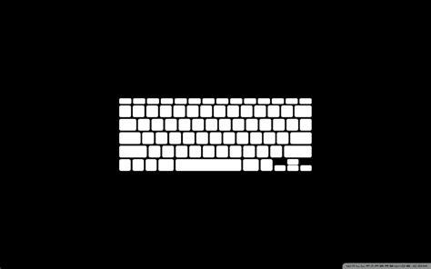 papel de parede teclado branco  preto wallpaper